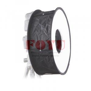 Portable Universal Ring Softbox Pro One 45 cm Untuk Speedlite Flash