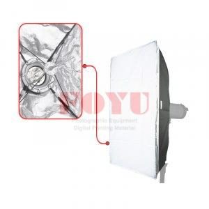 Softbox Rectangle Quick Assemble For Mount Pro One 80 x 120 cm