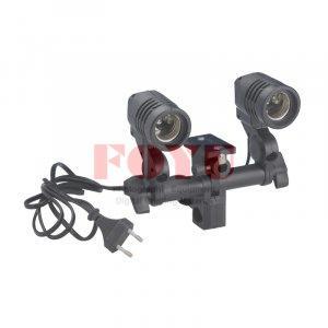 Adaptor Holder Lampu E27 2 Slot