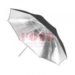 Payung Reflect Silver Fiber Rod Diameter 84 cm