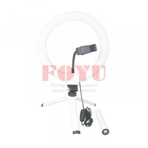 LED Bi-Color 10 Inch Ring Light With Mini Tripod Pro One R-10L