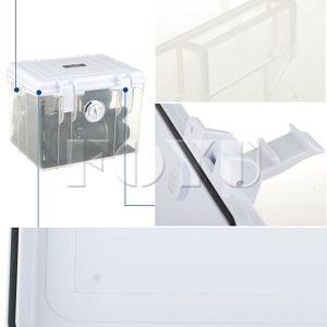 Dry Box Plastik Pinshe 2820 + Silica Gel Elektrik