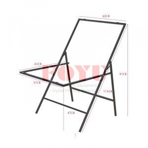 Meja Easy Fold Still Life Table Top 60×100 cm