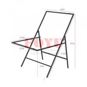 Meja Easy Fold Still Life Table Top 60×100 cm