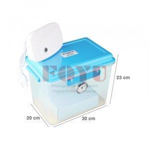 Dry Box Plastik Quanta DB-3020 + Silica Gel TOP400