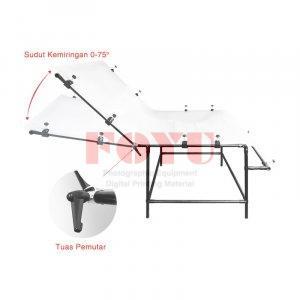 Meja Still Life Table Top 80×160 cm