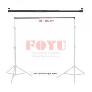 Pipa Background Stand Telescopic Cross Bar 118 – 300 cm
