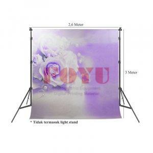Background Inkjet Kain Printing Ukuran 2,6 x 3 Meter F-561