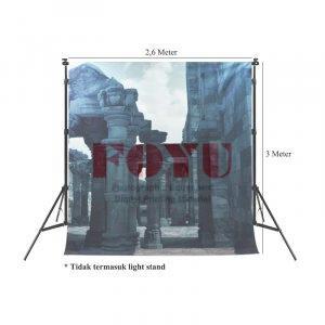 Background Inkjet Kain Printing Ukuran 2,6 x 3 Meter FY-008