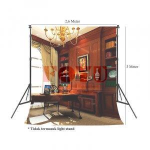 Background Inkjet Kain Ukuran 2,6 x 3 Meter RB-020