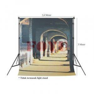 Background Inkjet Kain Printing Ukuran 2,6 x 3 Meter S-1131