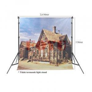 Background Inkjet Kain Printing Ukuran 2,6 x 3 Meter S-11674