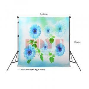Background Inkjet Kain Printing Ukuran 2,6 x 3 Meter S-5022