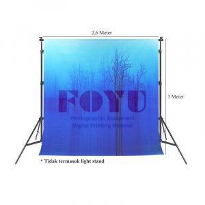 Background Inkjet Kain Printing Ukuran 2,6 x 3 Meter S-7009