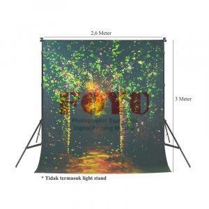 Background Inkjet Kain Printing Ukuran 2,6 x 3 Meter S-7263