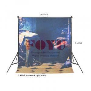 Background Inkjet Kain Printing Ukuran 2,6 x 3 Meter S-7844