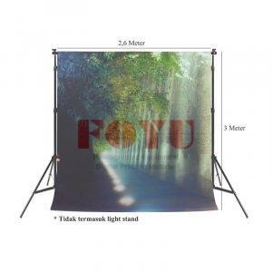 Background Inkjet Kain Printing Ukuran 2,6 x 3 Meter S-9050
