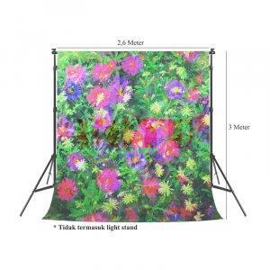 Background Inkjet Kain Printing Ukuran 2,6 x 3 Meter S-9920