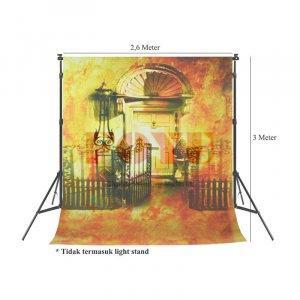 Background Inkjet Kain Printing Ukuran 2,6 x 3 Meter SA-2204