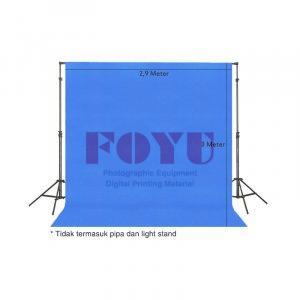 Background Bludru Polos Ukuran 2,9 x 3 Meter
