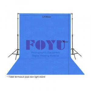 Background Bludru Polos Ukuran 2,9 x 6 Meter