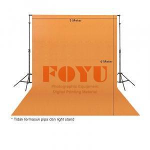 Background Kanvas Polos Ukuran 3 x 6 Meter