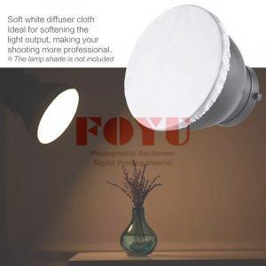 Kain Diffuser Putih Cover Untuk Standard Reflector