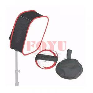 Portable Universal Square Softbox Pro One 40×40 cm Untuk LED Light Panel